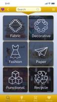 material categories